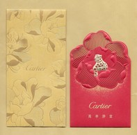 Enveloppe Pocket CARTIER + étui * NOUVEL AN CHINOIS CHINESE NEW YEAR 2019 *** 1 EX - Modern (from 1961)