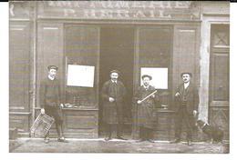 Photo (format Cpm)  Rodez - Imprimerie Paul Hérail (imprimeur Depuis 1896)  /  Recto+verso Glaçés . - Rodez