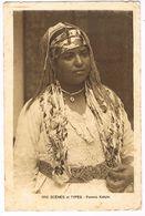 CPA. Algérie.Femme.Kabyle.    (F.611) - Algérie