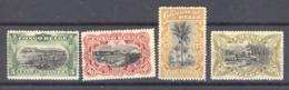 Belgique  -  Congo  :  COB   50-53  * - 1894-1923 Mols: Neufs