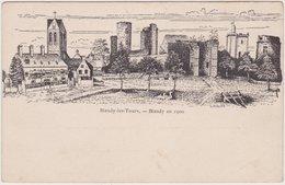 Blandy Les Tours - Blandy En 1900 - France