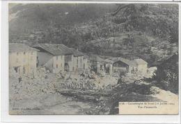 73 BOZEL . Catastrophe , L'avalanche Animée , Le 16 Juillet 1904 , édit : Pittier , 1904 , état Extra - Bozel