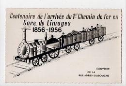 LIMOGES - 87 - Haute Vienne - Centenaire De L'Arrivée Du 1er Chemin De Fer En Gare De Limoges - Rue Adrien Dubouche - Limoges