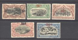 Belgique  -  Congo  :  Yv  95-99   * - Belgian Congo