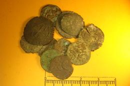 Lot 11 Monnaies Medievales Et Royales  (45) - 987-1789 Monnaies Royales