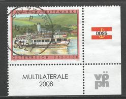 Oostenrijk, Mi 2767 Jaar 2008, Toeslag, Hoekblok,   Gestempeld - 1945-.... 2ème République