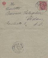 PM075 Karten-Brief Von Pola Nach Vöslau, Gelaufen 1908, Poststempel Pola 1 Und Vöslau, Sehr Guter Zustand - Other