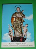 B.V.IMMACOLATA Convento SABBIONCELLO,SARTIRANA,MERATE Lecco/Statua Lignea 1741 Frate Francesco Rabagliotti Da Vanzone - Santini