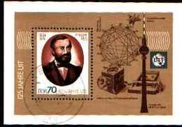 91739) DDR-BF N. 101-DEL  Centenario Della Morte Di Philipp REIS -USATO - [6] Repubblica Democratica