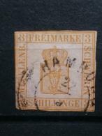 Mecklenburg Schwerin Mi-Nr. 2b Gestempelt - Mecklenburg-Schwerin