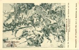 Rotes Kreuz N. 50 Bajonettsturm Der Kärnttner Auf Dei Russen Bei Koniacz - Guerra 1914-18