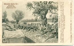 Rotes Kreuz N. 6 Die Bedeckung Einer Automobil-trainkolonne In Der Stärke In Raume Von Lemberg - Guerra 1914-18