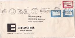 """EMPLOYER SRL-CIRCULEE 1976-BANDELETA PARLANTE """"AYUDE A LOS NIÑOS DEL MUNDO-UNICEF"""" - BLEUP - Argentina"""