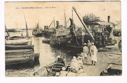CPA.Casablanca. Vue Du Port .  (F.644) - Casablanca