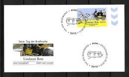 2014 Joint / Gemeinschaftsausgabe Deutschland Liechtenstein Österreich Schweiz, FDC DEUTSCHLAND: Lindauer Bote - Gezamelijke Uitgaven