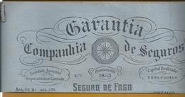 Rara Apólice Da Companhia De Seguros Garantia Emitida 1931. Bússola. Compass. Compás. Kompas. Contract Of The Insurance - Portugal