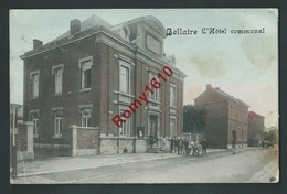 Bellaire - L'Hôtel Communal. Couleur - Beyne-Heusay