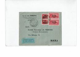 LMON3 -  LETTRE AVION 22/5/1939 - Albanien