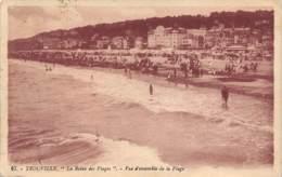 14 - TROUVILLE - Vue D'ensemble De La Plage - Trouville