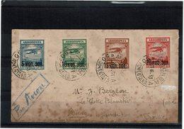 LMON3 - URSS LETTRE AVION 8/6/1931 - Lettres & Documents