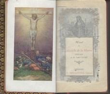 """Missel Relié Cuir 1917 ? """"missel Du Miracle De La Marne"""" . Sur La Guerre 1914/1918 Nb Gravures  De Bataille - 1901-1940"""