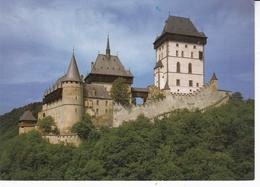 Czech Republic Karlstejn Castle Postcard Unused Good Condition - Tschechische Republik