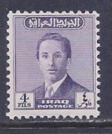 Iraq, Scott # 144 MNH King Faisal II, 1954 - Iraq