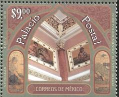 J) 2019 MEXICO, POSTAL PALACE, MNH - Mexique