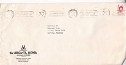 "LA MERCANTIL ANDINA SA. MENDOZA-CIRCULEE 1974-BANDELETA PARLANTE ""1a REUNION NACIONAL DE AMBIENTE HUMANO"" - BLEUP - Argentina"