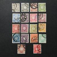 ◆◆◆ Japón 1899 -1907  Chrysanthemum Series Complete  Used  JP005 - Japon
