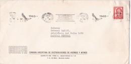 """CADHYA-CIRCULEE 1972-BANDELETA PARLANTE """"32 AÑOS DESARROLLO AEROCOMERCIAL IADE"""" - BLEUP - Argentina"""
