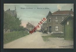 Blégny-Trembleur - Rue De La Station. Couleur - Blégny