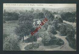Ecole Normale Et Pensionnat De Blégny-Trembleur. Jardin - Blegny