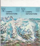 DEPLIANT TURISTICO - CAMPO IMPERATORE - GRAN SASSO- - Dépliants Touristiques