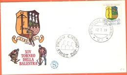SAN MARINO - 1979 - XIV Torneo Della Balestra - FDC - Filagrano - FDC
