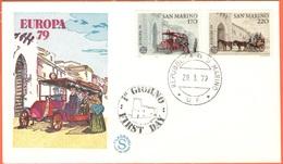 SAN MARINO - 1979 - Europa Cept - FDC - Filagrano - FDC