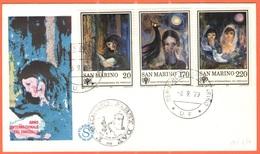 SAN MARINO - 1979 - Anno Internazionale Del Fanciullo - FDC - Filagrano - FDC