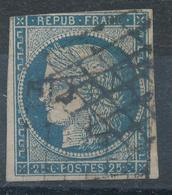 N°4 NUANCE ET OBLITÉRATION - 1849-1850 Cérès
