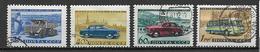 RUSSIA 1960 INDUSTRIA AUTOMOBILISTICA YVERT. 2337-2340 USATA VF - Usati