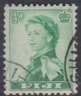Fiji SG 298 1959-63 Queen Elizabeth II Definitives, Half Penny Emerald Green, Used - Fidschi-Inseln (...-1970)