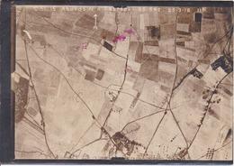 GUERRE 1914-1918 - Bataille De La Somme - Photo Aérienne Abords N. D'Estrées Le 25.3.1916 - Guerre, Militaire