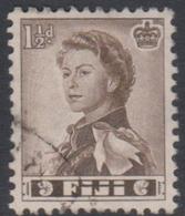 Fiji SG 300 1959-63 Queen Elizabeth II Definitives,1.5d Sepia, Used - Fidschi-Inseln (...-1970)