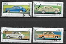 POLONIA 1976 AUTOMOBILI YVERT. 2299-2302 USATA VF - 1944-.... République
