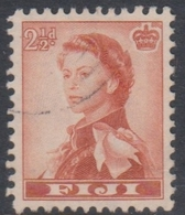 Fiji SG 302 1959-63 Queen Elizabeth II Definitives,2.5d Orange-brown, Used - Fidschi-Inseln (...-1970)