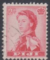 Fiji SG 312 1962-67 Queen Elizabeth II Definitives 2d Rose Red, Used - Fiji (...-1970)
