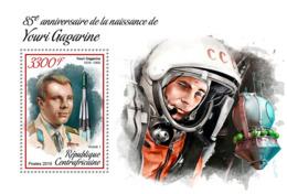 Central Africa 2019  Yuri Gagarin Space  ,Vostok 1   S201902 - Central African Republic