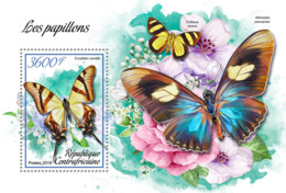 Central Africa 2019  Fauna  Butterflies S201902 - República Centroafricana