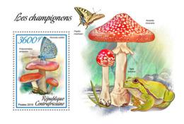 Central Africa 2019 Mushrooms  Butterflies   S201902 - República Centroafricana