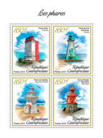 Central Africa 2019 Lighthouses  S201902 - Central African Republic