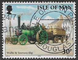 Isle Of Man SG631 1995 Steam Traction Engines 30p Good/fine Used [31/27625/25D] - Isle Of Man